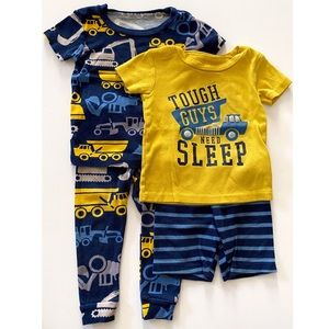 Just One You Dump Truck Pajama Set 18 Months